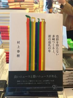 Haruki Murakami's new novel. Can't wait for an English translation to come out next year!