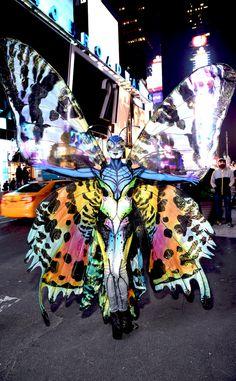 Heidi Klum Talks Halloween 2014 Butterfly Costume, Kids' Reactions?See Photos!
