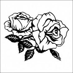 Adesivo de Parede Flor Rosa Roseira