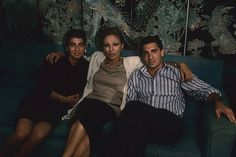 Farah Diba and two of her children, Leila & Alireza, both tragically past away at young age.