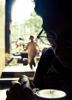 A Moment at the Chai Shop by Arun Shah Masood, via Flickr