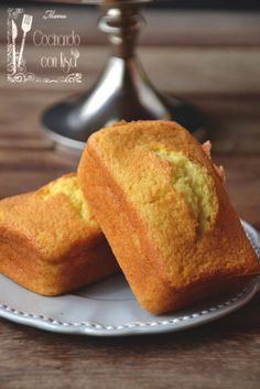 Bizcocho de claras a la naranja (Egg-white-cake with orange) Recipe in Spanish)