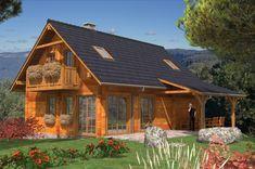 przeszklony dom z drewna - Szukaj w Google