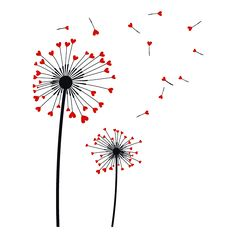 Vinilos Decorativos Flores Diente de León Corazones Doodle Drawings, Easy Drawings, Doodle Art, Dandelion Art, Fabric Stamping, Flower Doodles, Love Wallpaper, Pottery Painting, Calligraphy Art