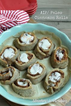 Cinnamon rolls with an orange glaze may seem like an impossibility on the AIP/ Paleo diet, but these AIP and Paleo Cinnamon Rolls are free of gluten, dairy, eggs, nuts and processed sugar, but are still packed with the flavor you come to expect from a treat like cinnamon rolls. They are the perfect start to a holiday morning, great for packing for treats on the go, or really for any day that you want to make a little more special.