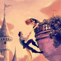 What if Rapunzel was never kidnapped by mother Gothel..... They still would have found their new dream.