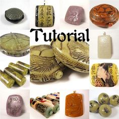 Polymer Clay Digital PDF Tutorial - Create Realistic Looking Faux Jade 16 Color Recipes 6 Projects 3 Bonus Mini Tuts