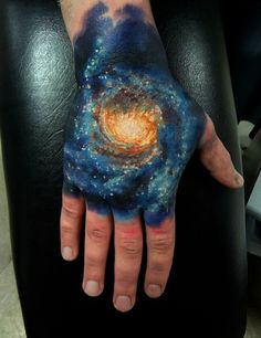 40+ Cosmic Tattoo Ideas For Astronomy Lovers - AntsMagazine.Com
