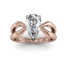 Simplistic in design, yet the essence of this fine-looking diamond engagement ring radiates a well-designed feel. The gentle prongs of the arc style head holds the diamond firmly in place, yet allows plenty of glow to reach the stone and radiate glow with it. The lustrous, high polish shank has a split design which adds a subtle touch and attention to the design. This very gorgeous and popular setting is available for 18k White/Yellow Gold and Platinum upgrade for the more particular.  With…