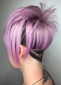 Short Hairstyles for Women: Geometric Undercut