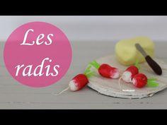 Tuto: Les Radis - Radish polymer clay tutorial