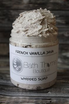 eye creams for women Whipped Soap, Whipped Body Butter, Coffee Soap, Bath Soap, French Vanilla, Soap Recipes, Sweet Almond Oil, Shaving Cream, Home Made Soap