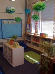 Bits of First Grade: Classroom Tours Linky Party Classroom Setting, Classroom Setup, Classroom Design, Future Classroom, School Classroom, Classroom Libraries, Classroom Floor Plan, First Grade Classroom, Library Lessons