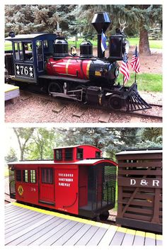 Toddler Train Ride in Loveland, Colorado: Great fun for families at North Lake Park. Right by Loveland lake and across from sculpture park. Loveland Colorado, Colorado Usa, Windsor Colorado, Colorado Trip, Colorado Springs, Lake Park, Train Rides, Model Trains, Great Places
