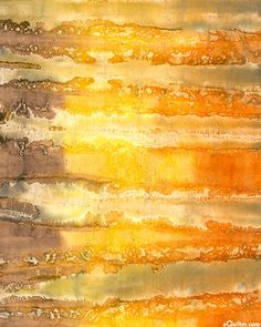 Ochre, such a lovely diverse color