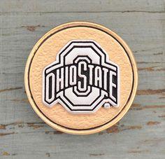 Ohio State University Buckeyes Snap Charms