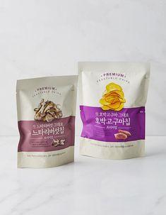 마켓컬리 :: 손 안에서 장보는 나만의 마켓 Pouch Packaging, Cookie Packaging, Food Packaging Design, Packaging Design Inspiration, Branding Design, Visual Communication Design, Label Design, Package Design, Fish Design