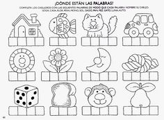 Spanish Worksheets, Spanish Teaching Resources, Spanish Language Learning, Spanish Lessons, Alphabet Activities, Learning Activities, Kids Learning, Activities For Kids, Home Schooling