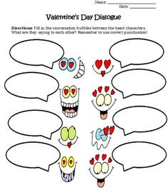 Valentine's Day Literacy Centers, Worksheets, & Activities. Included are 10 printable worksheets focused on Valentine's Day and creative writing to complete for your class. Available for purchase.