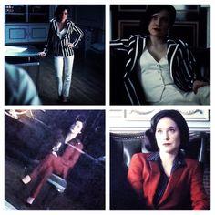 I love Alana Bloom's blazers and pantsuits from Hannibal season 3.