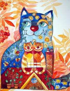 Gemini cat ♊