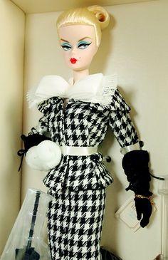Barbie Silkstone Walking Suit Doll - Mattel - NIB