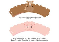 cupcake wrappers, free printable, granja, imprimible, Kit imprimible, kits imprimibles, printable cupcake wrappers, printable farm, wrappers, wrappers farm, wrappers granja, free printable party kit, printable templates for Party Decorations