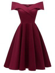 LaceShe Women's Off Shoulder Sleeveless Cocktail Party Dress.- LaceShe Women's Off Shoulder Sleeveless Cocktail Party Dress – … LaceShe Women's Off Shoulder Sleeveless Cocktail Party Dress – - A Line Prom Dresses, Homecoming Dresses, Sexy Dresses, Dress Outfits, Evening Dresses, Casual Dresses, Fashion Dresses, Dresses For Girls, Party Outfits