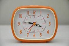 Retro Alarmklok (oranje)