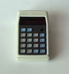 1970s Vintage APF Mark 40 Calculator -  Made in Japan - by PoorLittleRobin