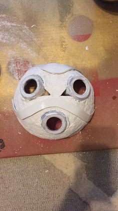 Halloween Masquerade, Masquerade Costumes, Halloween Masks, Halloween Diy, Happy Halloween, Crow Skull, Skull Mask, Princess Mononoke Cosplay, Pumpkin Mask