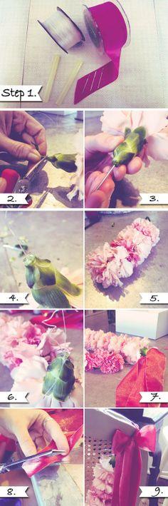 La Fleur Vintage: Elizabeth's Expert Advice: Carnation Garlands