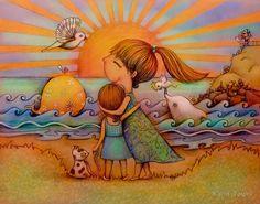 Мир глазами детей: 21 сказочная иллюстрация - Ярмарка Мастеров - ручная работа, handmade