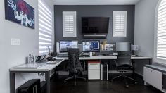 desk setup - Google Search