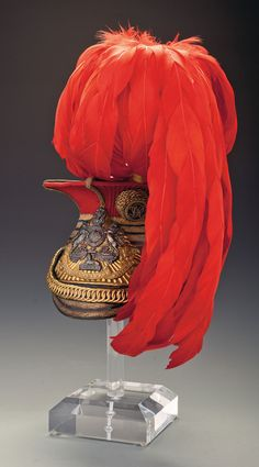12th Prince of Wales's Royal Lancers Officer's Czapka
