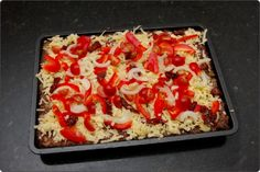 Meatza - You'll never miss a pizza again. Healthy Eating Recipes, Low Carb Recipes, Real Food Recipes, Diet Recipes, Cooking Recipes, Yummy Food, Alkaline Recipes, Healthy Food, Tasty