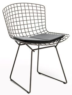 Chaise Bertoia Side Chair, Harry Bertoia #diningchairs #velvetchair #chairdesign comfortable chair, side chair, upholstered chairs | See more at http://modernchairs.eu