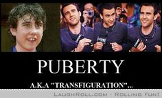 The Puberty Transformation!