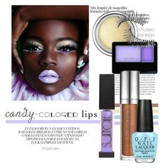 """""""Sem título #2587"""" by angelicallxx ❤ liked on Polyvore featuring beauty, Surratt, Christian Dior, Maybelline, Urban Decay, Trish McEvoy, OPI and candylips"""