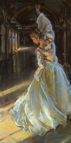 InSight Gallery - Artist: Daniel F. Gerhartz - Title: In Her Dreams