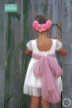But Mommy; why, I don't want to dress like sissy does. Little Girl Dresses, Nice Dresses, Girls Dresses, Flower Girl Dresses, Summer Dresses, Bella Dresses, Young Fashion, Kids Fashion, Baby Dress