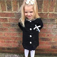 The little sweetheart @milancohen in our black SWET BOW CARDIGAN. Available at www.halotots.com  #fashionkids #mummygirls #babyswag #trendykids #kidstrends #mummysgirl #kidsfashion #kids  #toddlerlife #babygirl #toddlerlife #babylife #ukbaby #cutekidsclub #family #precious #myboy #daughter #son #kids  #sale #beautiesandgents #hipsterkidskidsstyle #trenchcoat #fashionista #diva