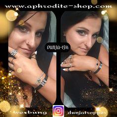 """""""Werbung"""" Mit meinem Rabattcode DUNJA-15% bei diesen wunderschönen Armbändern 15% bei euren Einkauf sparen. Auch toll als individuelles Geschenk da es die Mesh-Armbänder in einigen Farben mit vielen schönen Motiven gibt. . . . . . . #aphroditegirl #aphroditeschmuck #schmuck #armbänder #schwarzerschmuck #silberschmuck #schmuckbegeistert #ichliebeschmuck #mädchenzeug #mädchenkram #werbung #rabattcode #sparen #folgemirfürmehr #aphroditejewellery #jewellery #braclet #blackjewellery… Aphrodite, Mesh Armband, Charms, Shopping, Fashion, Unique Jewelry, Silver Jewellery, Neck Chain, Advertising"""