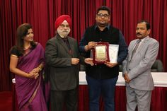 Dr. Amritbir Singh receiving certificate of  Fellowship in Minimal Access Surgery at World Laparoscopy Hospital. For more detail please log on to www.laparoscopyhospital.com