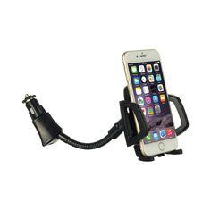 Universal Car Phone Holder with Cigarette Lighter Adapter #PH-HOCU-16