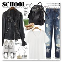 Have you gone back to school shopping yet? This look is great for style inspiration.