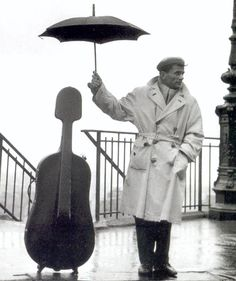 #347 listening to cello music on a rainy day.