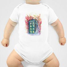 Doctor Who Tardis Onesie
