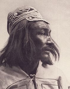 Innu Chief, 1912. This commercially-produced photogravure was produced and distributed by Revillion Frères, the chief fur trading rival of the Hudson's Bay Company at the beginning of this century./ Chef innu (naskapi), 1912. Photogravure de production co by BiblioArchives / LibraryArchives, via Flickr
