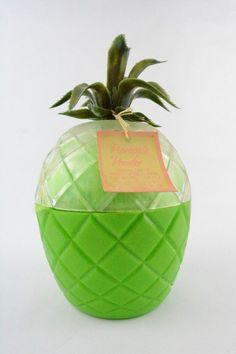 Vintage Dusting Powder Pineapple, Kitsch Beauty Retro Glamour Green Perfume 1975    eBay